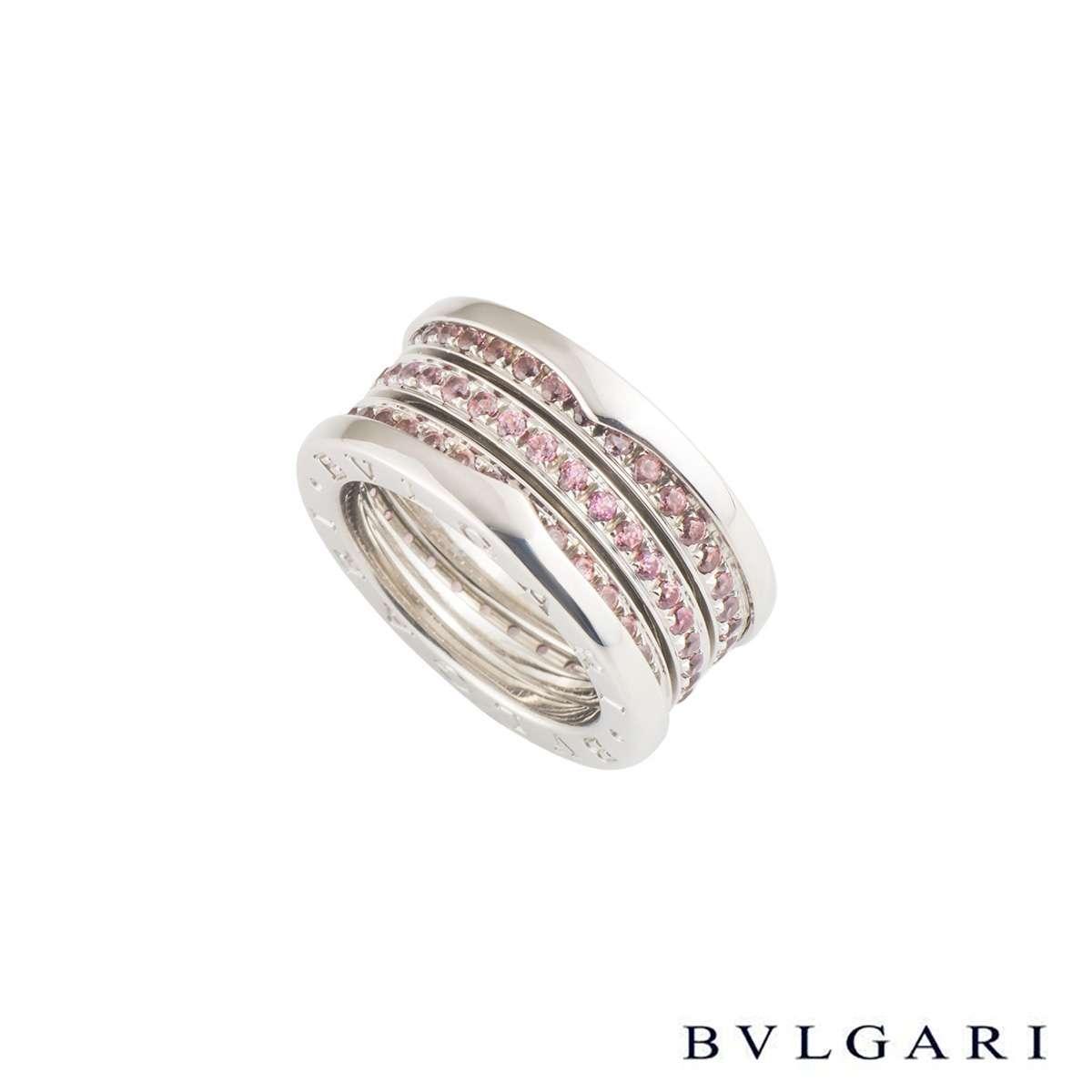 Bvlgari B.zero1 Pink Sapphire Ring